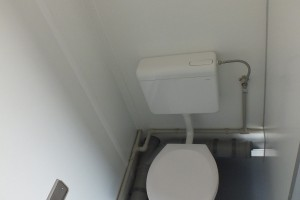 10' WC-Container / WC-Kabine - h+s container GmbH