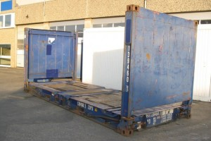 20' Flat-Rack Container