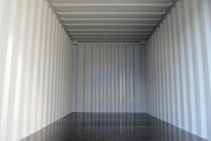 15' Lagercontainer / Innenansicht - h+s container GmbH