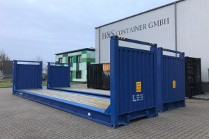 40' Flat-Rack Container
