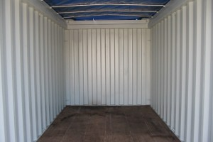 20' Open-Top Container / Innenansicht - h+s container GmbH