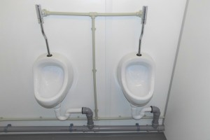 20' Damen / Herren WC-Container / Urinal - h+s container GmbH