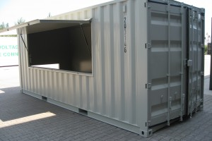 20' High-Cube Eventcontainer / Messecontainer